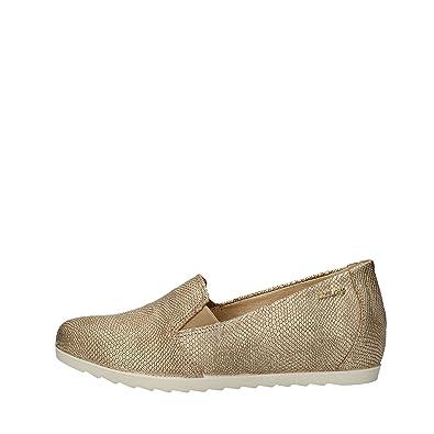 Enval soft 79182 00 Mokassin Frau Platin  42  Amazon   Platin Schuhe ... 1fd6e2