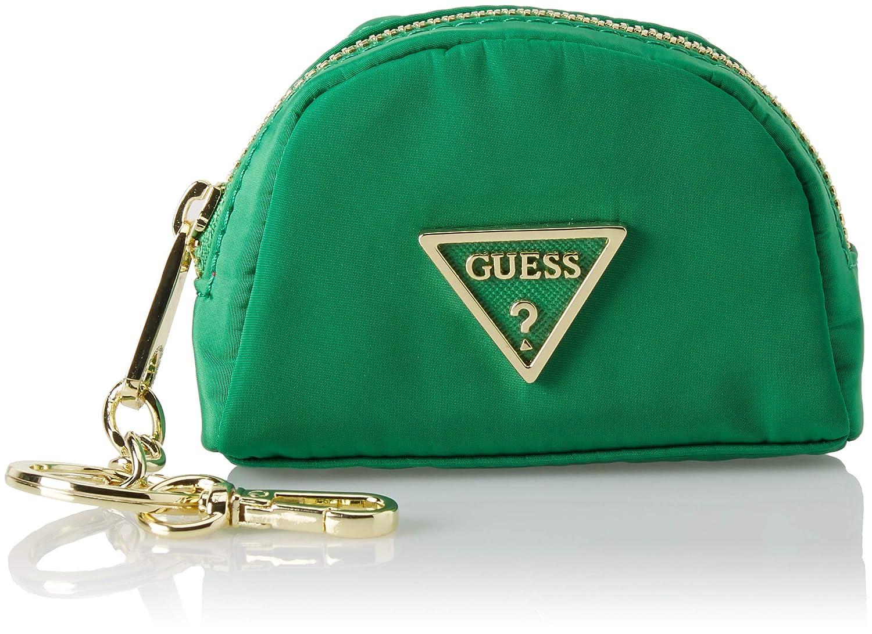 Guess - Did I Say 90?, Monederos Mujer, Verde (Green), 10x7.5x4 cm (W x H L): Amazon.es: Zapatos y complementos