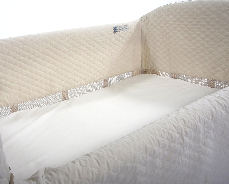 Amazon.com: Arm's Reach Ideal Arc Original Co-Sleeper Bedside Bassinet,  Natural: Baby