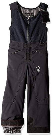 f5e469eed Spyder Boys' Mini Expedition Ski Pant, Black/Black/Black, ...