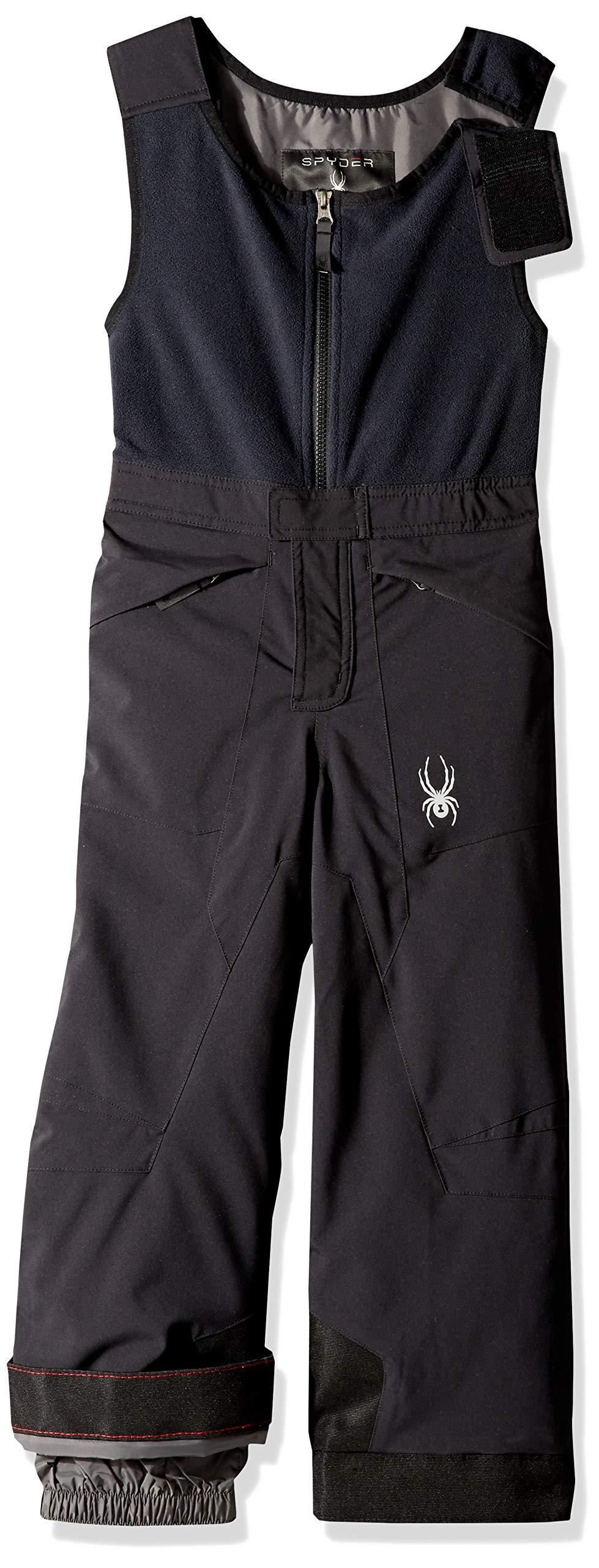 Spyder Boys' Mini Expedition Ski Pant, Black/Black/Black, Size 2