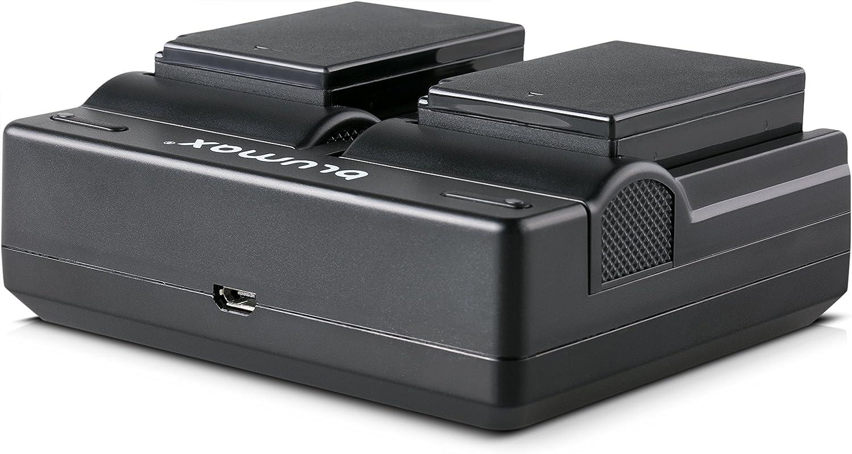 Blumax Akku ersetzt Canon LP-E10 1020mAh EOS Rebel T3-T5-T6 || 1020mAh 7,4V 7,5Wh/mehr Leistung als Original akku kompatibel mit Canon EOS 1100D 1200D 1300D