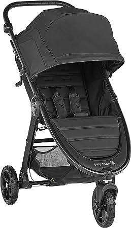 Oferta amazon: Baby Jogger City Mini GT2 Jet. Cochecito de bebé todo terreno desde naciemiento hasta 22 kg. Color negro