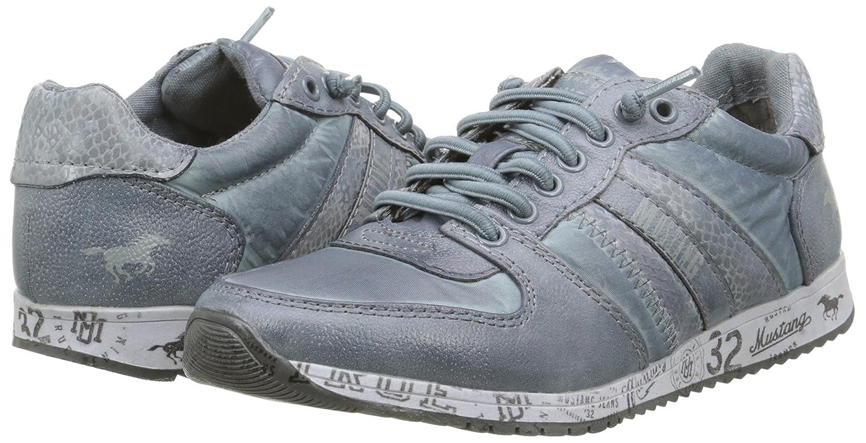 Mustang 5039401 - Zapatillas, Niños-Niñas, Azul (875 Sky), 31: Amazon.es: Zapatos y complementos