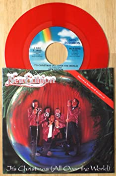 NEW EDITION - it's christmas (all over the world) 45 rpm single ...