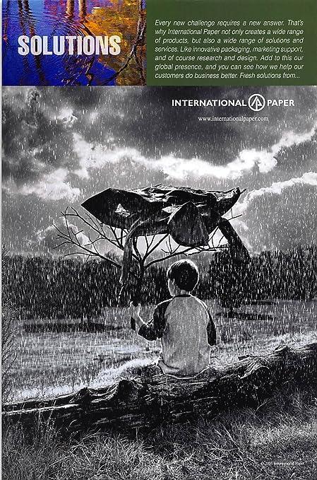 Amazon com: Print Ad 2001 International Paper Solutions