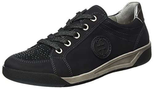 Tienda De Venta Disfrutar Jenny JennySeattle - Scarpe da Ginnastica Basse Donna amazon-shoes neri Navegar Venta Muchos Colores 0CLvG3b1