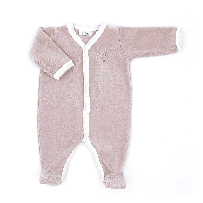 Premiers Moments Pyjama Velours en Coton Bio