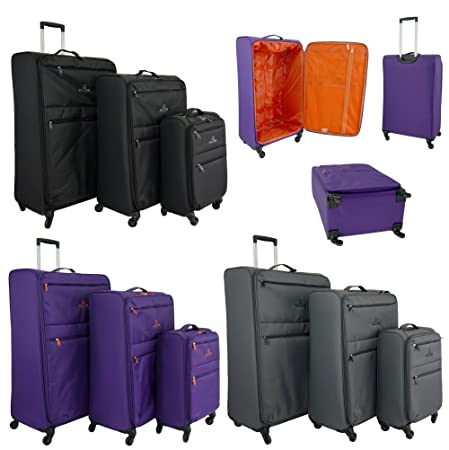 Super Lightweight World lightest 4 wheel Suitcase,Trolley, Spinner ...