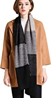 LETRY Winter Scarfs for Women Men Thick Warmth Cable Knit Chunky Long Shawl