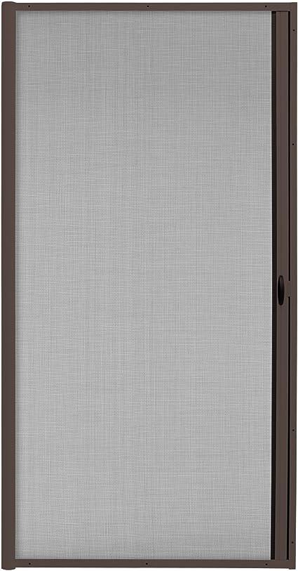 JAROLIFT 3 en 1 Puerta corredera mosquitera - Zanzara Mosquitera para puertas, marco de aluminio 140 x 240 cm, marrón: Amazon.es: Bricolaje y herramientas