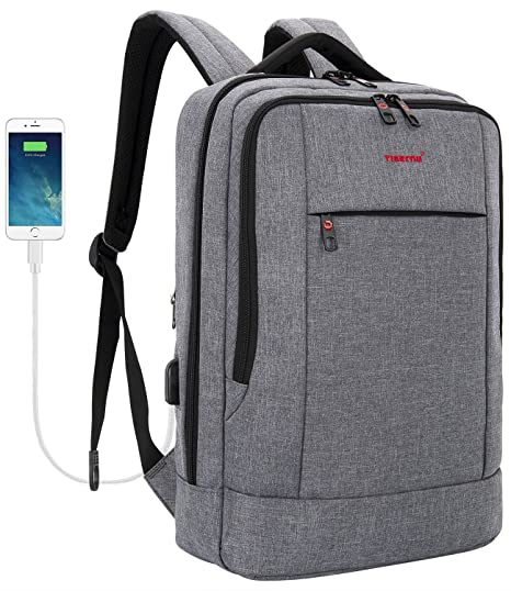 ee35e1a590 Tigernu Business Laptop Backpack Slim Anti Theft Travel Computer Backpacks  Environmentally Waterproof Laptops Bag for Men