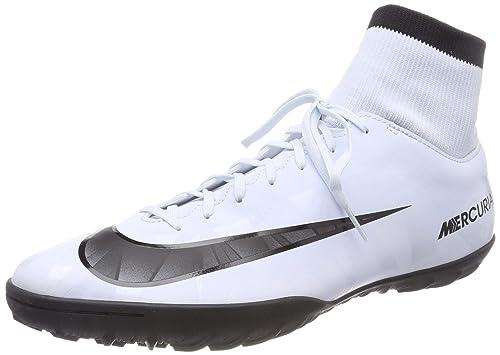 more photos ec645 c4331 Nike Mercurial Victory VI CR7 DF TF Turf Men Soccer Shoes - Silver Size 6.5