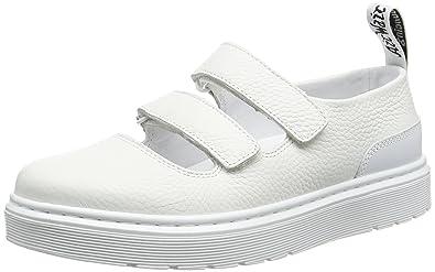 ba7bc72894c7 Dr. Martens Women s Mae Slip-On Loafer White 3 UK 5 ...