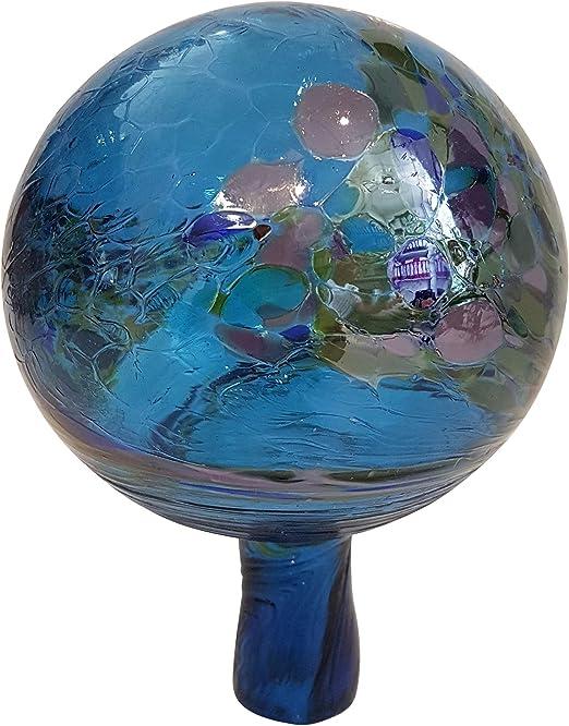 Jardín de bolas de coloures de rosas de colour azul turquesa de mármol gelüstert decorativa de