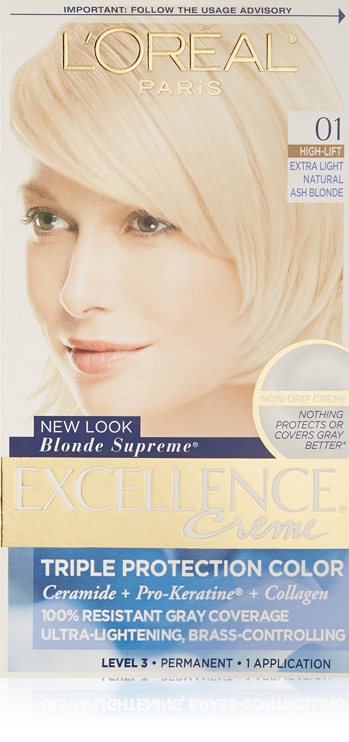 Amazon.com : L'Oreal Excellence Blonde Supreme Triple ...