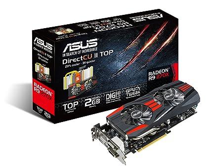 Amazon com: ASUS DirectCU II Radeon R9 270X 2GB GDDR5