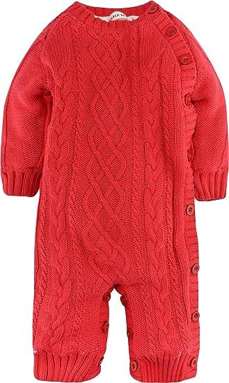 ZOEREA Unisexo Peleles Bebe Invierno Suéter Sweater Abrigos Bebe niño Sudaderas niño suéter Navidad Knitwear Ropa: Amazon.es: Ropa y accesorios