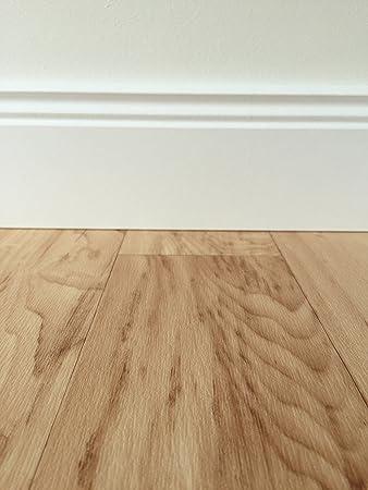 PVC Bodenbelag In Mediterraner Holzoptik Hell | Strukturierte Oberfläche |  Vinylboden In 4m Breite U0026
