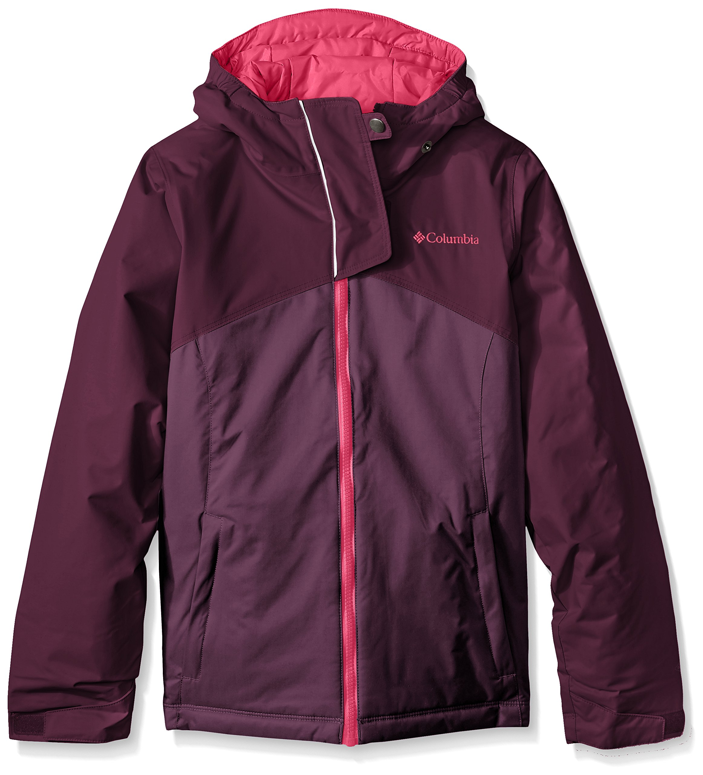 Columbia Girls Crash Course Jacket, X-Small, Purple Dahlia