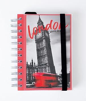 Grupo Erik Editores London- Agenda escolar 2018-2019 día ...