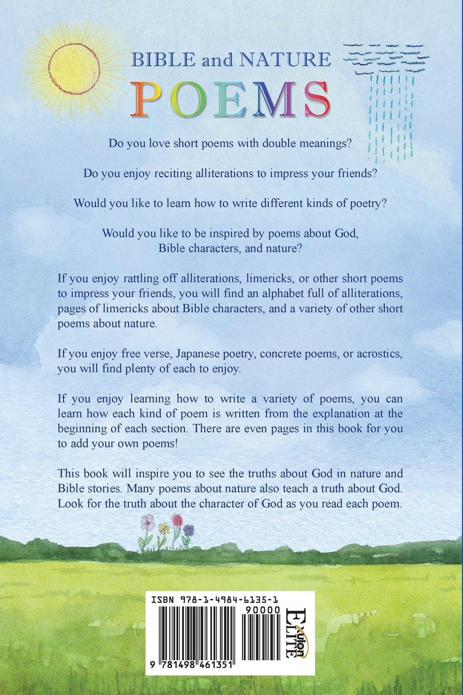 Bible And Nature Poems Amazones Linda Kay Libros En
