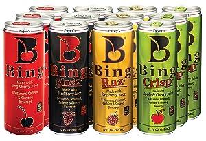 Bing Beverage Company Variety Pack, 12 Fl. Oz (Pack of 12)
