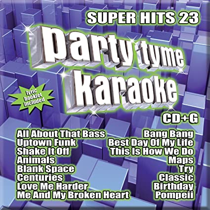 Party Tyme Super Hits 23 - Best Karaoke CD for Tweens