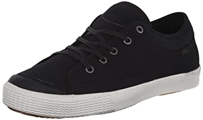 Simple Men's Wingman Fashion Sneaker, Black Canvas, ...