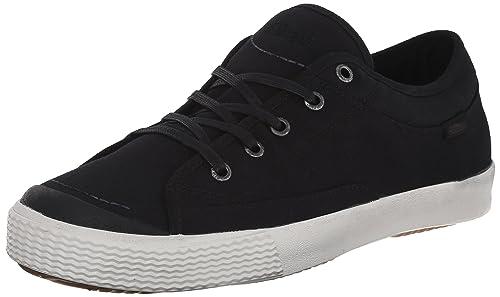 Simple Men's Wingman Fashion Sneaker, Black Canvas, ...
