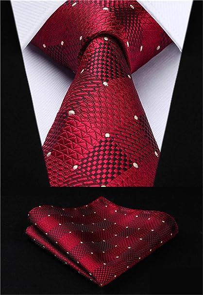 hombre Corbatas Hombres Corbata de Corbata de Bolsillo Cuadrado ...