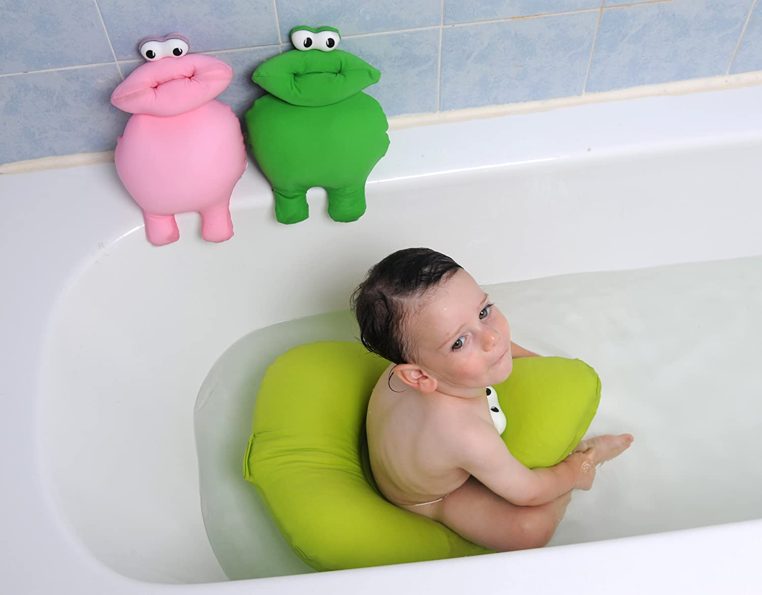 Amazon.com : Tito Bath Tub Cushioned Stuffed Animal Plush Toy ...