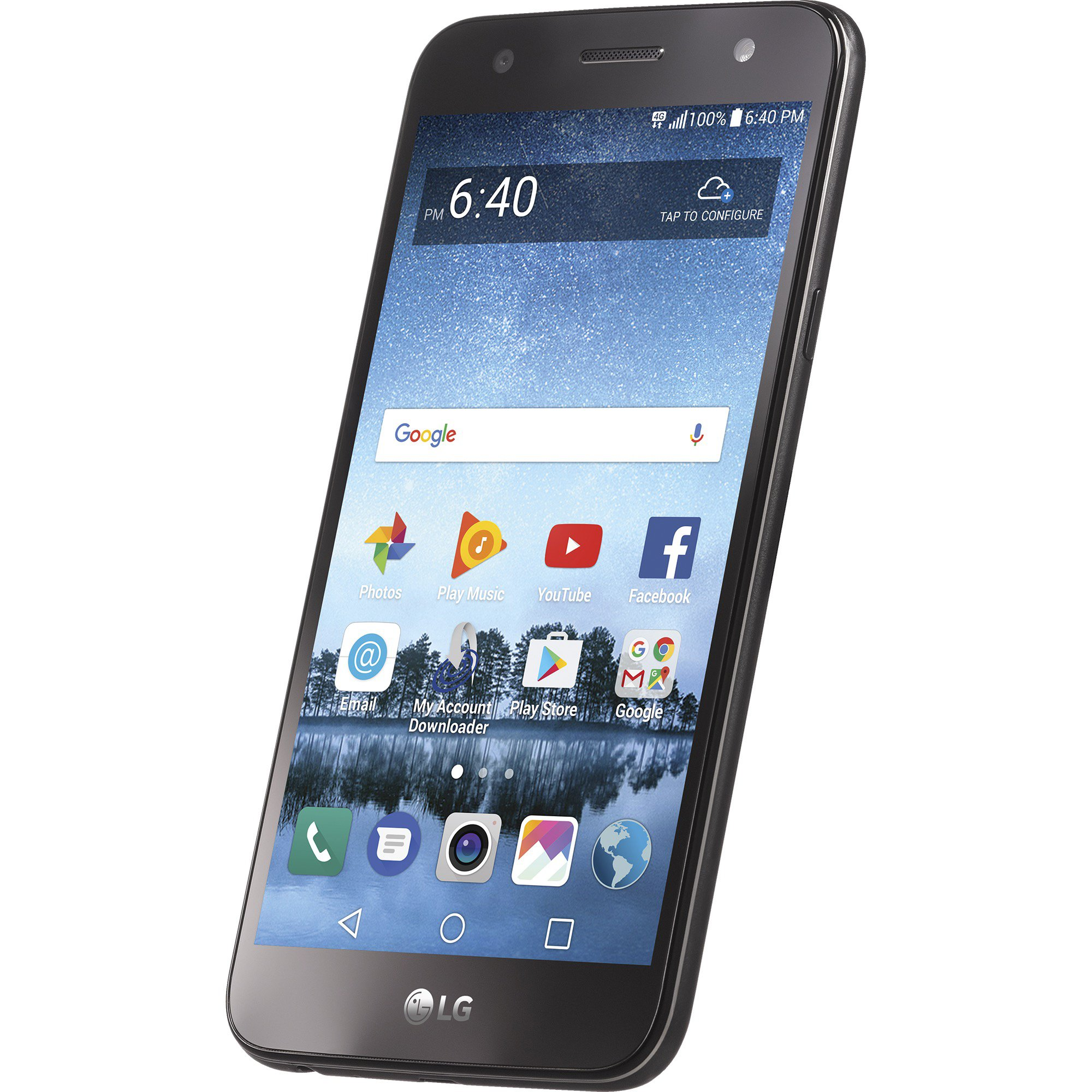 Simple Mobile LG Fiesta 2 4G LTE Prepaid Smartphone with Free $50 Unlimited Bundle by Simple Mobile (Image #7)