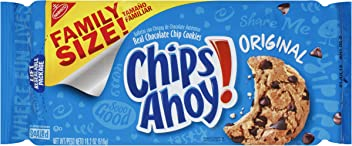 Chips Ahoy! Original Chocolate Chip Cookies - Family Size, 18.2 Ounce