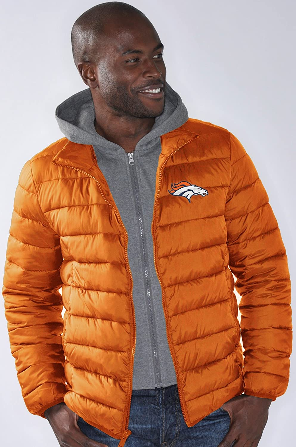 Denver Broncos NFL G-III Three Point Heavyweight Detachable Hooded Jacket Giacca G-III Sports