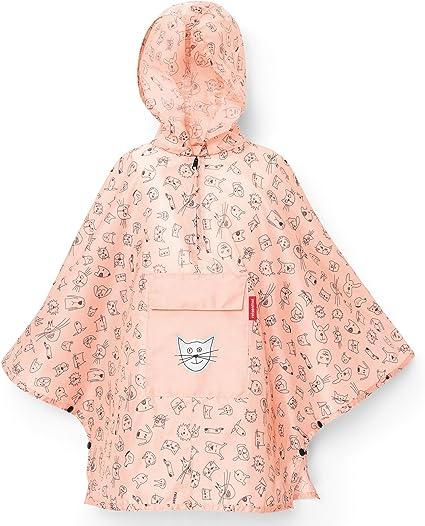 reisenthel mini maxi poncho m kids ciré veste de pluie imper cats and dogs mint