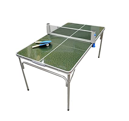 Gentil Mini Ping Pong Table Portable Folding Game Table