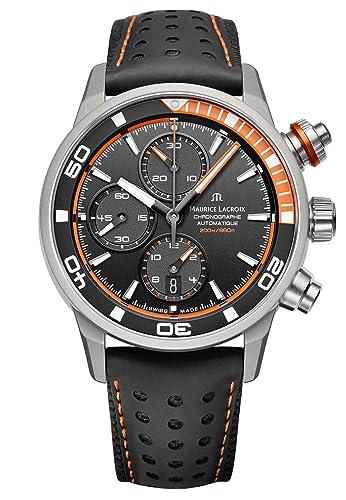 Maurice Lacroix Pontos S Extreme Reloj de hombre automático PT6028-ALB31-331-1: Maurice Lacroix: Amazon.es: Relojes