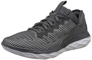 c4ae85cf28158b Reebok Men s Astroride Forever Alloy Stark Grey Blk Wht Running Shoes - 10