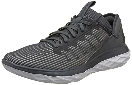 24037bc1f Reebok Men s Astroride Forever Alloy Stark Grey Blk Wht Running Shoes - 10
