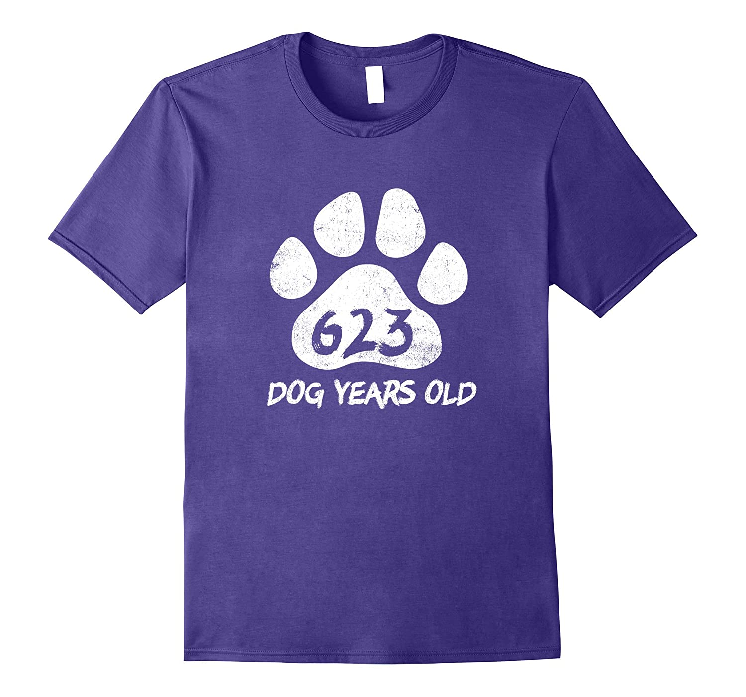 623 Dog Years Old Funny 89th Birthday T-Shirt Novelty Gift-PL