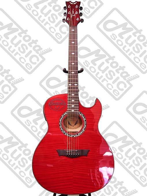Dean guitarras EX TRD FM madera de arce veteada de exposiciones ...