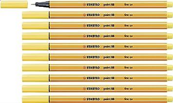 Stabilo Fineliner Pens 0.4 mm pack of 10 NEW