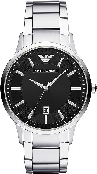 Emporio Armani Reloj de Pulsera AR2457: Amazon.es: Relojes