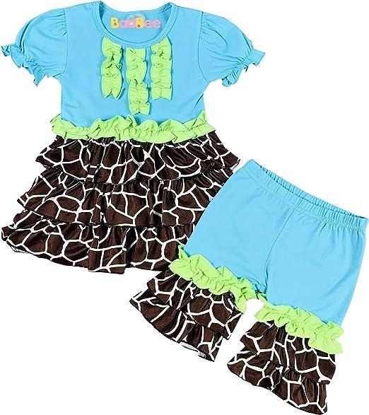 Baby Toddler Girls THREE PC Pajama Set JOHN DEERE Flowers PINK 12 18 24 MO 3T 4T