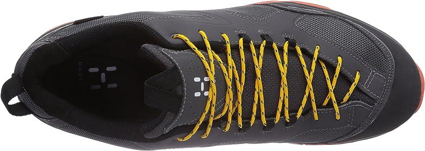 Haglöfs Rocker GT Men, Zapatos de Low Rise Senderismo para Hombre, Mehrfarbig (Magnetite/Dynamite 2F8), 43 1/3 EU: Amazon.es: Zapatos y complementos
