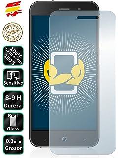 REY Funda Carcasa Gel Transparente para ZTE Blade V6, Ultra Fina 0 ...