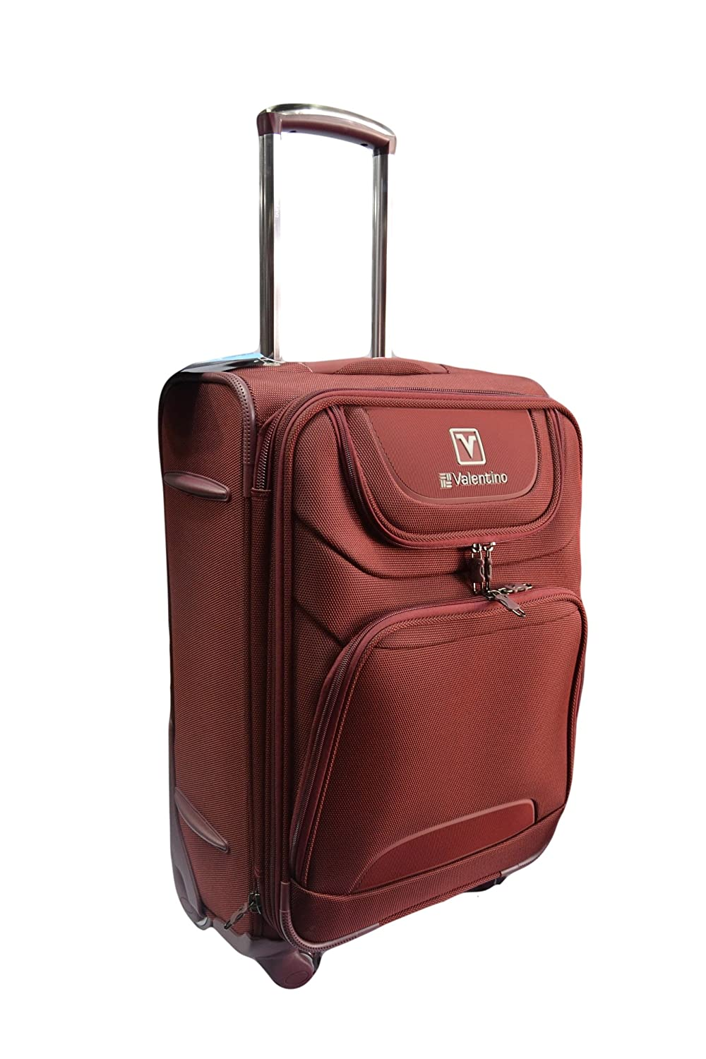 399a57f4d51 Valentino LP 4 WHEEL-20 INCH-Red: Amazon.in: Bags, Wallets & Luggage
