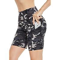 QUEENIEKE Shorts Deportivos para Mujer 3.5 Pulgadas Entrepierna Entrenamiento de Control de Barriga de Cintura Alta…