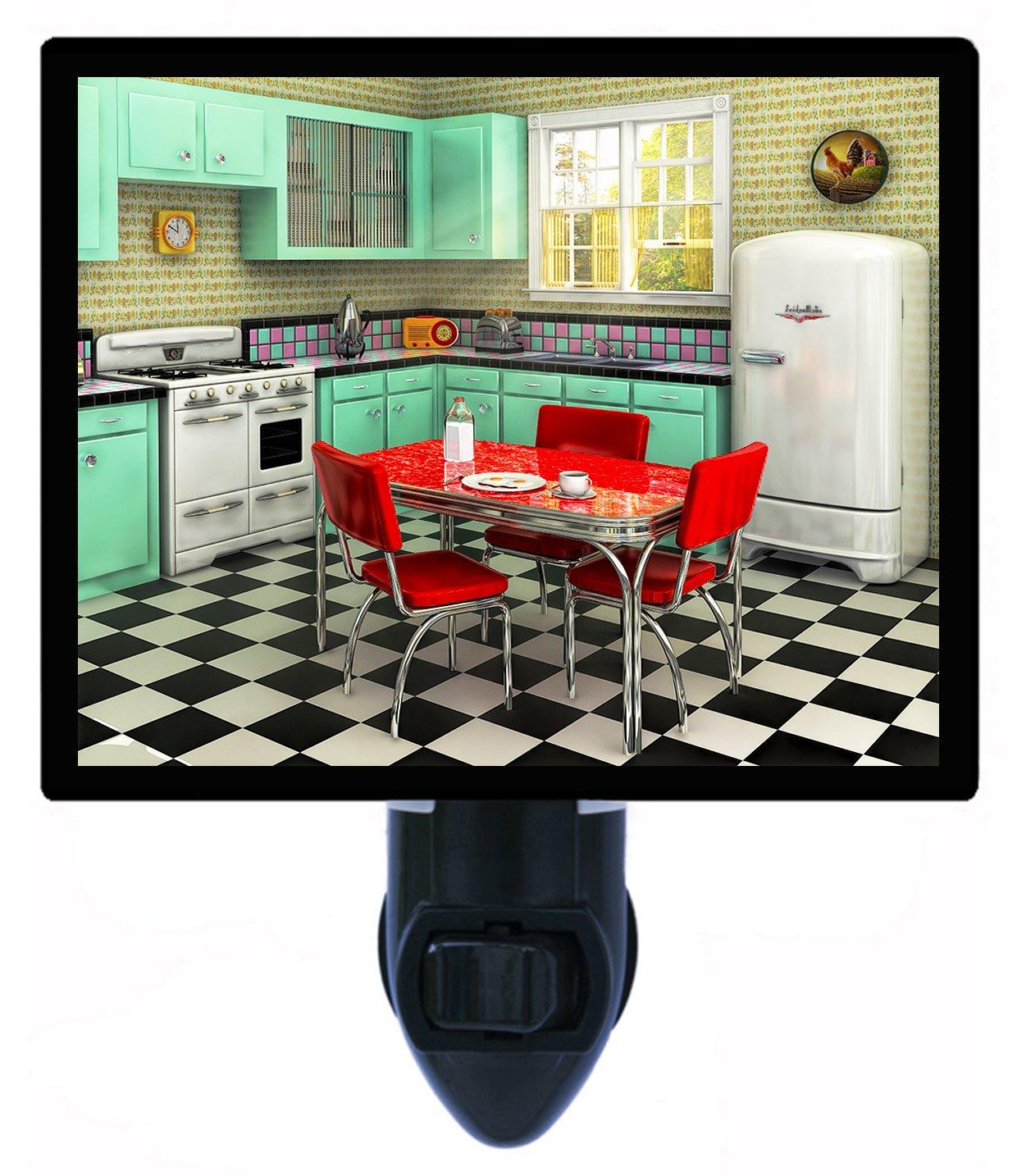 Night Light - 1950's Kitchen - Vintage - Home